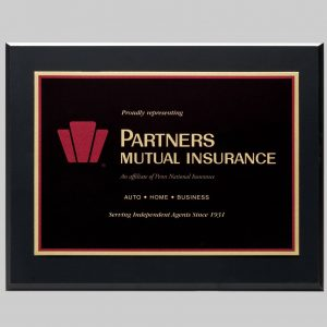 APS custom plaque design for Partners Mutual Insurance