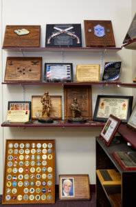 Military plaques designed by Awards Program Services - Des Moines Iowa