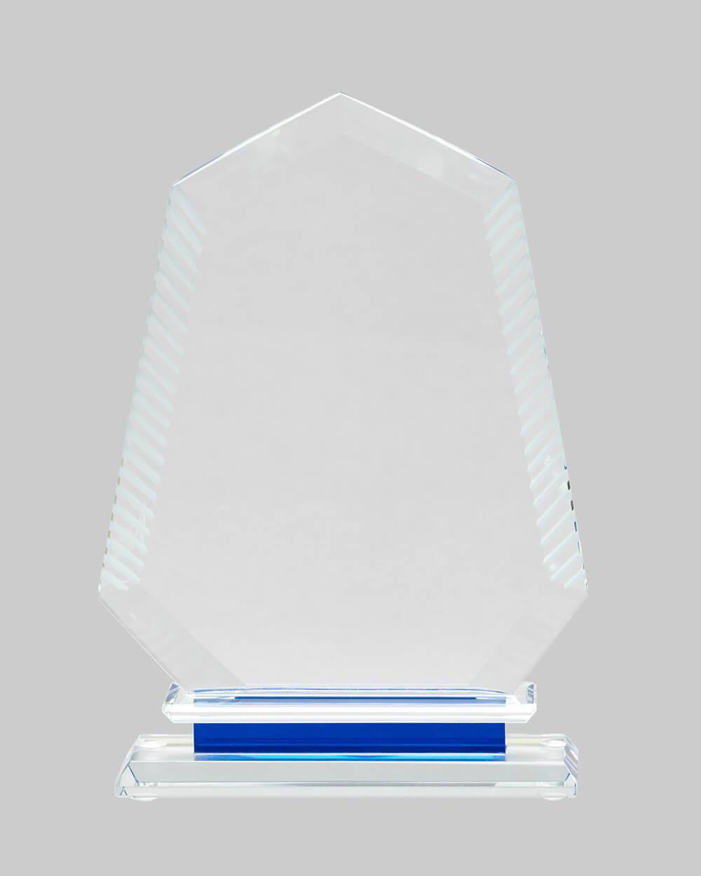 custom crystal trophy for business, sports, and achievements
