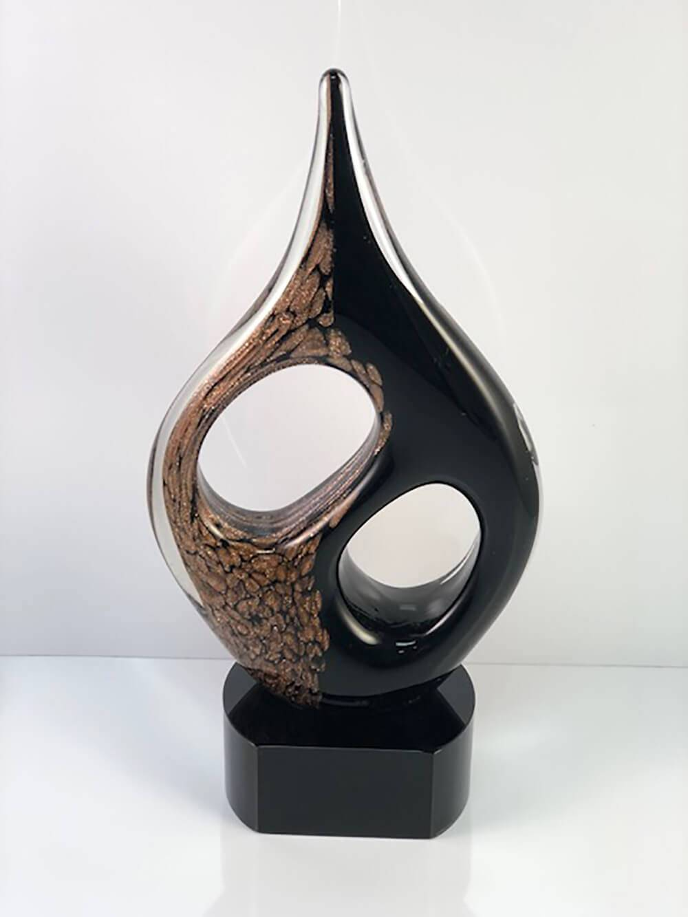 10.5 inch art glass