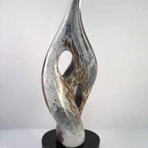 14.5 inch art glass example