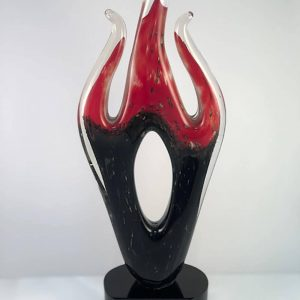 "16"" art glass award"