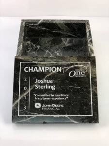 stone marble black box with lid