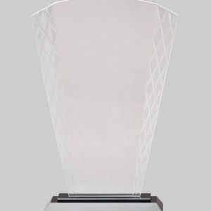 Glass imperial award.