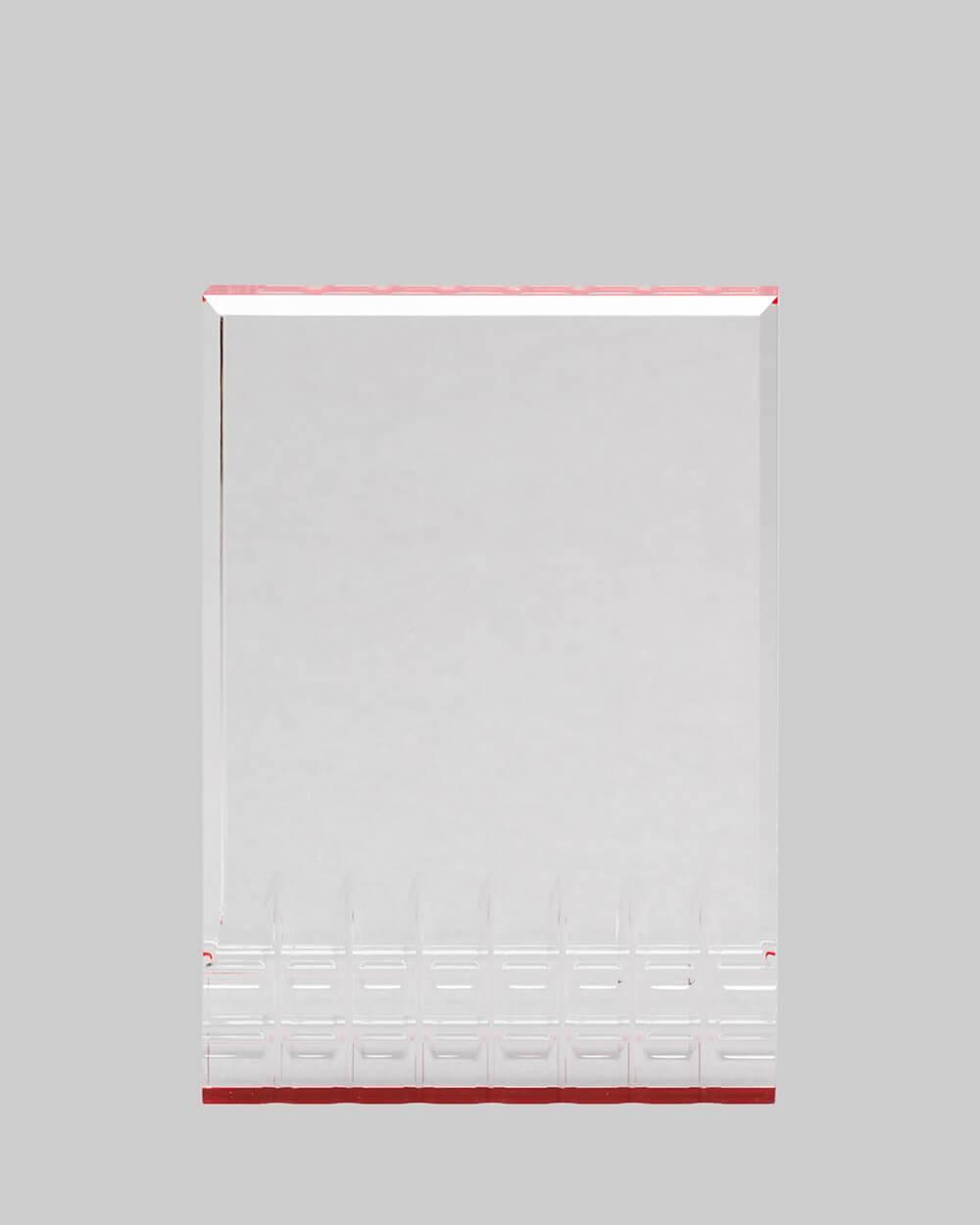 Red Acrylic Award