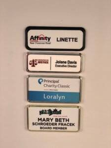Multiple badge frame options from APS.