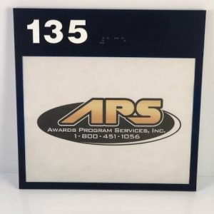 A room sign option available for purchase.